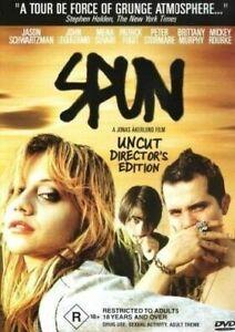SPUN  DVD Uncut Version_R18+ Movie_Director's Edition_Brittany Murphy_R4