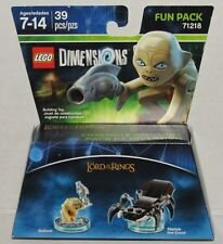 Lord Of The Rings Gollum & Shelob LEGO Dimensions 39pcs Fun Pack No. 71218 NEW