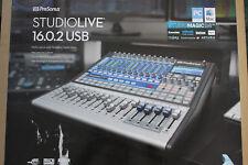 presonus studiolive usb 16.0.2 mixing desk