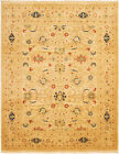 """Vintage Hand-Knotted Carpet 8'3"""" x 10'5"""" Traditional Oriental Wool Area Rug"""