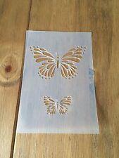 Butterfly MYLAR riutilizzabile Stencil Aerografo Pittura Arte Craft fai da te Home Decor
