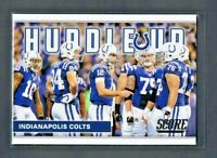 Andrew Luck 2017 Score Football HUDDLE UP #2 Indianapolis Colts