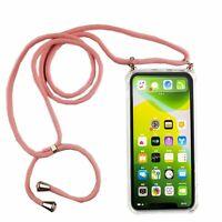 Apple IPHONE 11 Pro Max Handykette Coque Avec Ruban Pour Accrocher Corde en Rose
