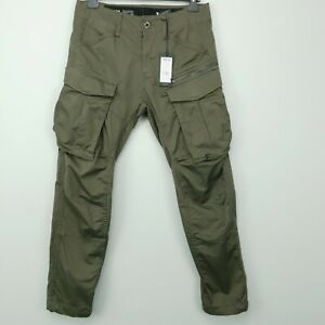 G-Star Raw ROVIC ZIP 3D STRAIGHT Mens  Jeans W30 L30 GS GREY Regular Tapered