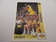 Carte NBA UPPER DECK 1993-94 McDonald's FR #40 James Worthy Los Angeles Lakers
