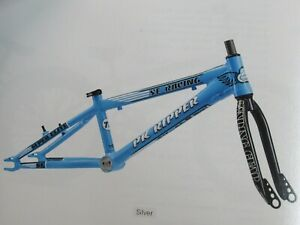 "PK Ripper Super Elite 20"" Bicycle Frameset with Fork in SE Blue - New In Box"