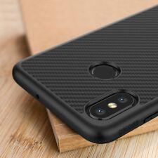 NILLKIN Unique Full Cover Ultra Slim Synthetic Carbon Fiber Case For Xiaomi Mi 8