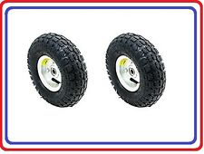 Air Tire 10 For Dolly Cart Wagon 2pc Set Industrial Qualityfree Shipping