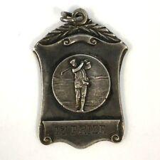 1927 Sterling Golf Medal 1st Prize Rosemount Golf Club Scotland