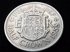 1958 ELIZABETH II HALF-CROWN COIN