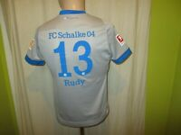 "FC Schalke 04 umbro Auswärts Trikot 2018/19 ""GAZPROM"" + Nr.13 Rudy Gr.164 Neu"