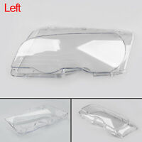 1X Headlight Lens Replacement Covers Left For BMW E46 2Drs 1998-2001 New BS2 BS2