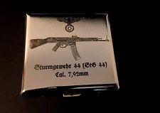 Étui à cigarettes Tempête fusil 44 (stg-44) - chromé Boîte en fer!