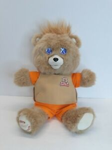 2017 Teddy Ruxpin Interactive Storytelling Bear Bluetooth LCD Eyes Moving Mouth