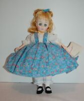 """Madame Alexander 10"""" Amy of Little Women Doll org Tagged clothes, box, tag"""