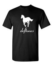 New DEFTONES Rock Band Logo Adrenaline Men's T-Shirt Size S to 3XL