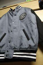 New OG Billionaire Boys Club Varsity Bomber Jacket Grey - M ( BBC / Pharrell )