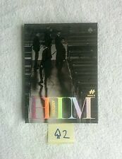 "HISTORY AUTOGRAPHED ""HIM"" Spade Ver. Album CD signed KPOP (No Photocard)"