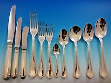 Oceana by Christofle Sterling Silver Flatware Set for 8 Service 95 Pieces Dinner