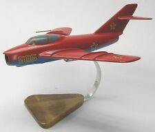 Mikoyan MiG-17 Fresco Airplane Desktop Wood Model Large