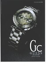 PUBLICITE  ADVERTISING   2008  GUESS montre collection Swiss Made