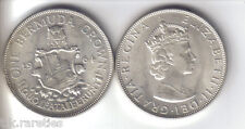 1964 BERMUDA CROWN uncirculated. A nice silver coin. Buy one or more.