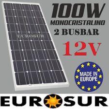 100W PANEL PLACA SOLAR 12V MONOCRISTALINA, CELS SUNWAYS AG