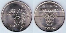 PORTUGAL: 200 Escudos 1992 juegos Olimpicos Barcelona 92  S/C