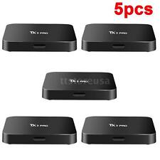 5x TX3pro Android6.0 Smart TV Box S905X Quad Core 4K Streaming Media Player N4H7