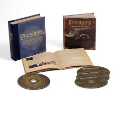THE LORD OF THE RINGS:THE TWO TOWER-OST/SHORE,HOWARD 3 CD+ BLU RAY AUDIO NEUF