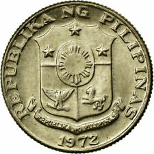 [#691793] Coin, Philippines, 10 Sentimos, 1972, AU(55-58), Copper-nickel, KM:198