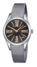 FESTINA F16962/2 Damen Edelstahl Armband Uhr mit Milanaiseband neu