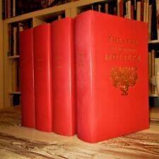 Théâtre de Molière (Complet en 4 volumes). Au Club des libraires de France