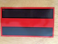 """Thin Red Line Magnets   3"""" x 5"""""""