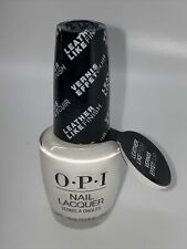 Opi Nail Lacquer Nail Polish Rydell Forever Leather Like Finish 0.5oz Nlg53 New