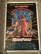 Barry Bostwick Ace Hunter MEGA FORCE 1982 Original 26x40 Movie Poster