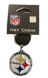 Pewter Keychain 3.5cm Pittsburgh Steelers