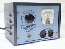 Hammond 174 F Line Voltage Adjuster Input 88 125v Output 115v Max Output 1000w