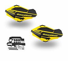 Powermadd Sentinel Handguards Guards Kit Yellow Snowmobile Snow Ski Doo Summit