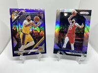 2019-2020 Donruss Optic Purple Holo Anthony Davis + Panini Prizm Silver CHAMP 🏆