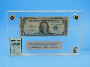 S.S. Andrea Doria 1935 PCGS A Grade Ship Wreck Silver Certificate