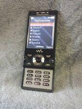 SONY ERICSSON W995 Walkman Handy schwarz #7 BC Camera mobile phone black