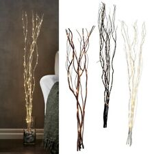 LED Lights Branches 115cm 90 Leds With Draht-Lichterkette Trafo Willow´S Twigs