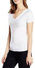 Armani Jeans women's double V neck T-shirts size 10UK (42EU)