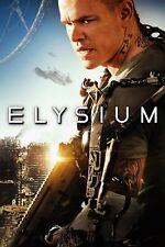 ELYSIUM Blu-Ray & DVD • Matt Damon New* (No Digital Copy) Sealed + Free Shipping