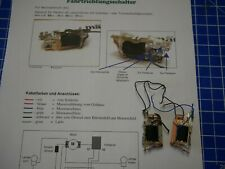 Märklin 60941 de alto rendimiento del motor-remolque con trommelkollektor nuevo