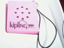 Pink Kipling Mini Speaker Handbag Charm For Mp3 Player, Mobile Phone