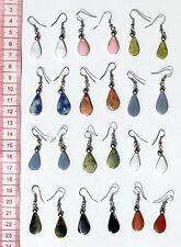 Lot 9 Pairs Natural Peruvian Stones Earrings Handmade Tribal Traditional Jewelry