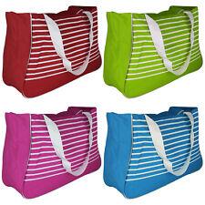 XL Strandtasche Einkaufstasche Handtasche Badetasche Shoppertasche Umhängetasche