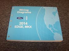 2014 Ford Edge Crossover Electrical Wiring Diagram Manual SE SEL Limited Sport